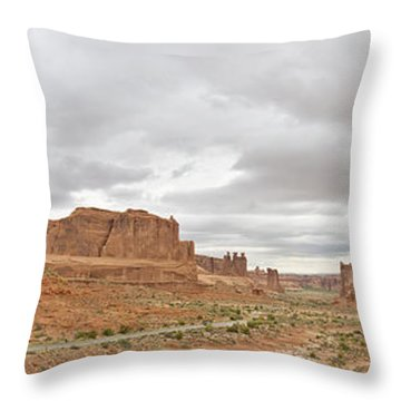 Arches Entry Throw Pillow