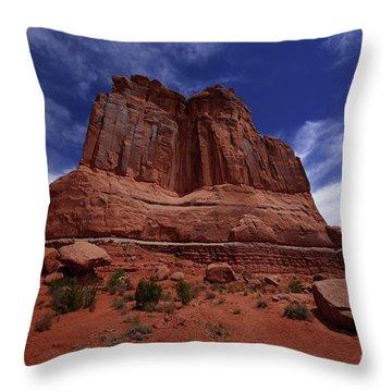 Arches Scene 2 Throw Pillow