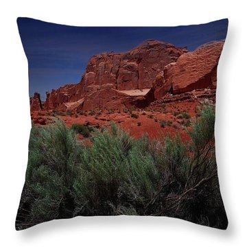 Arches Scene 3 Throw Pillow