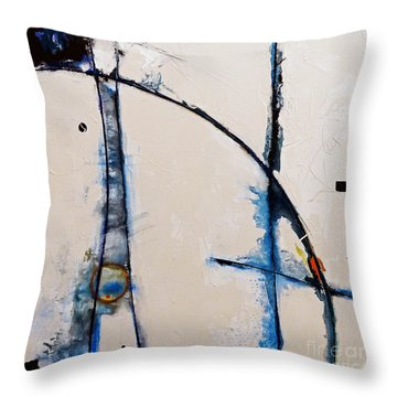 Arches To The Clouds Throw Pillow by Gallery Messina