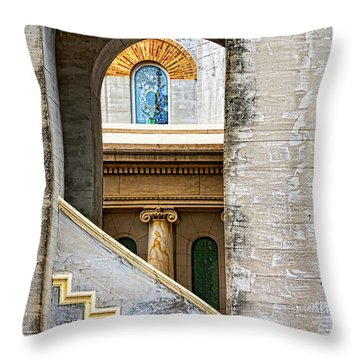 Arches Within Arches Throw Pillow by Christopher Holmes