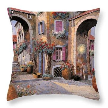 Archi A Toni Viola Throw Pillow
