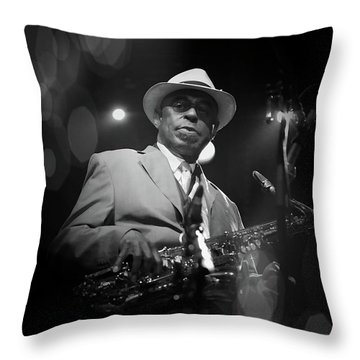 Archie Shepp,attica Blues Throw Pillow