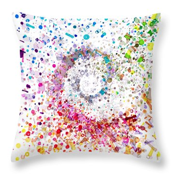 Archimedes Chiral Throw Pillow