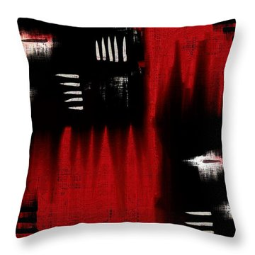 Architectonic Dimension Throw Pillow