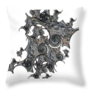 Architectonic Self Throw Pillow
