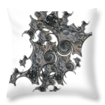 Architectonic Self Throw Pillow