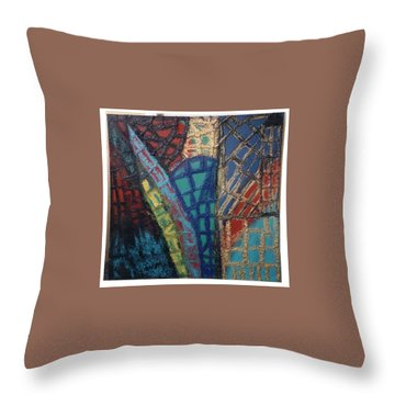 Architectuaral Bent,   Throw Pillow