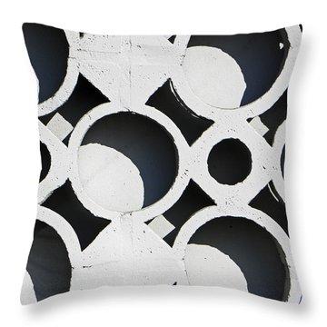 Architectural Detail Eight Throw Pillow