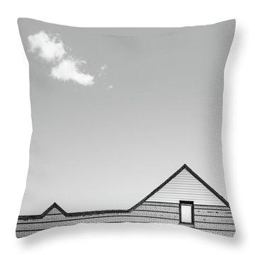 Architectural Ekg Throw Pillow