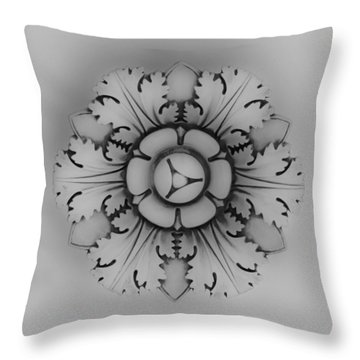 Architectural Element 1 Throw Pillow