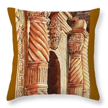 Architectural Immersion Throw Pillow