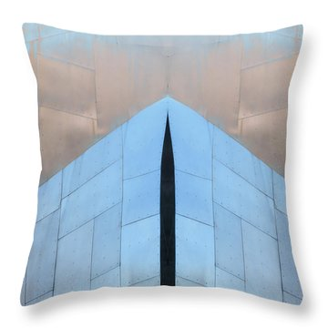 Architectural Reflections 4619k Throw Pillow