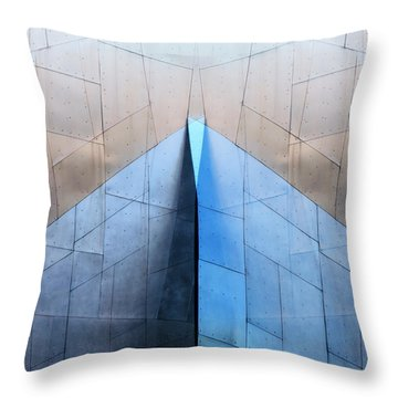 Architectural Reflections 4619l Throw Pillow