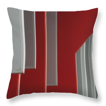 Architectural Rhythms Throw Pillow