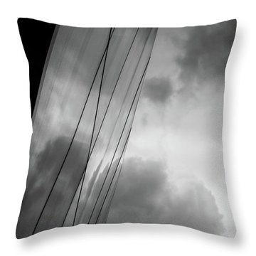Architecture And Immorality Throw Pillow