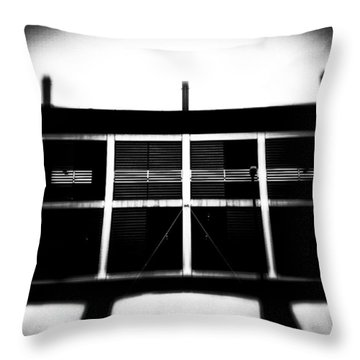 #architecture #building Throw Pillow by Jason Michael Roust