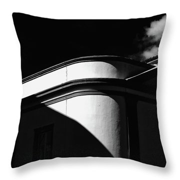Architecture Shadow Light Game Throw Pillow