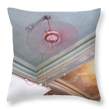Throw Pillow featuring the photograph Architecture At The Brass Door Memphis by Lizi Beard-Ward