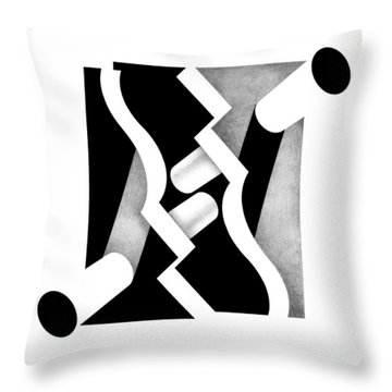 Archtectonic 1 Throw Pillow