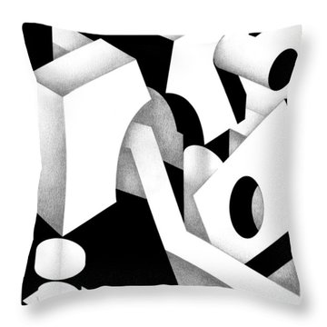 Archtectonic 11 Throw Pillow