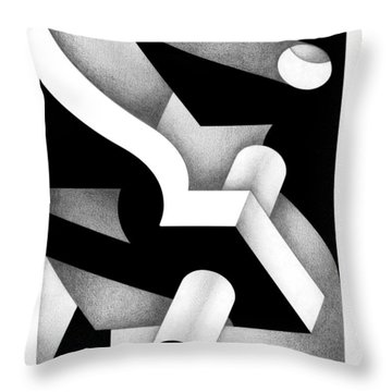 Archtectonic 12 Throw Pillow