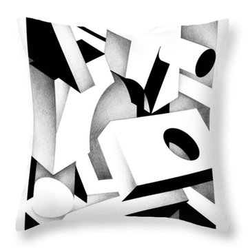 Archtectonic 2 Throw Pillow