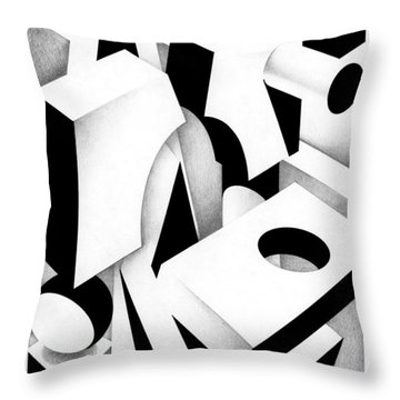 Archtectonic 3 Throw Pillow