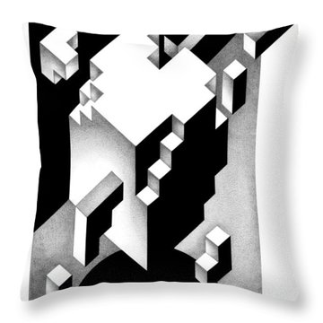 Archtectonic 4 Throw Pillow