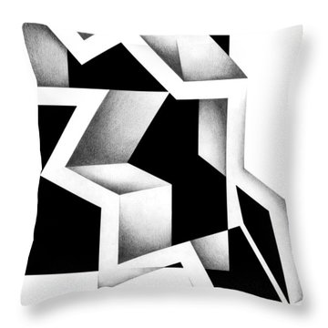 Archtectonic 5 Throw Pillow