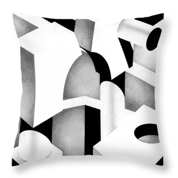 Archtectonic 6 Throw Pillow