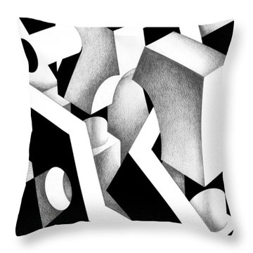 Archtectonic 9 Throw Pillow