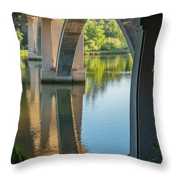 Archway Reflection Throw Pillow
