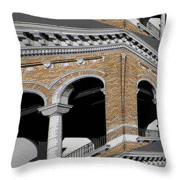 Archways Throw Pillow
