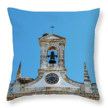 Arco De Vila, Faro, Algarve, Portugal Throw Pillow