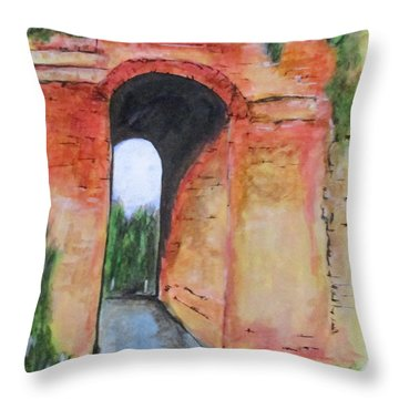 Arco Felice, Revisited Throw Pillow