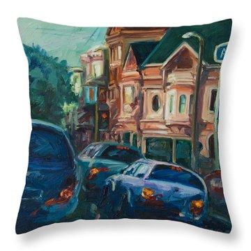 Arco Throw Pillow by Rick Nederlof