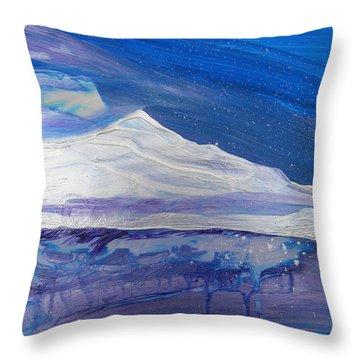 Arctic 2 Throw Pillow