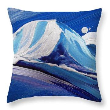 Arctic 3 Throw Pillow