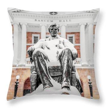 Arctic Abe Throw Pillow