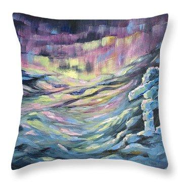 Arctic Experience Throw Pillow