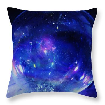Arctic Orb Throw Pillow