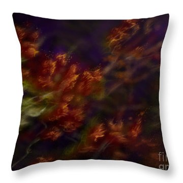 Ardor Throw Pillow