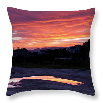 Ardore, Calabria Town Throw Pillow