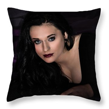 Are You Going To Keep Me Waiting? Throw Pillow