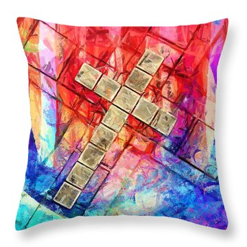 Are You Ready Throw Pillow