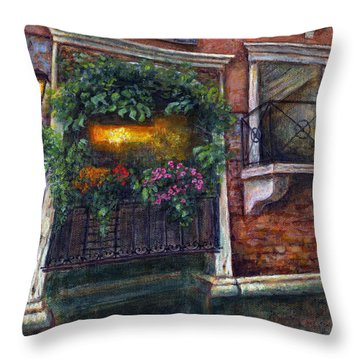 Are You There My Love? Throw Pillow by Retta Stephenson