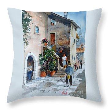 Arezzo-3 Throw Pillow