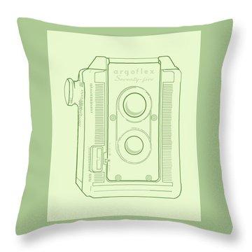 Argoflex Green Throw Pillow