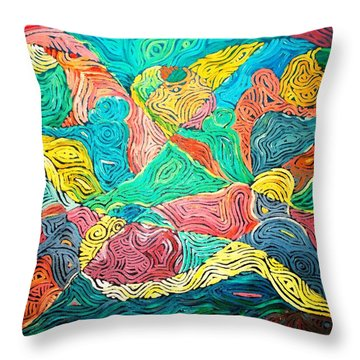 Argungun Fishing Festival Throw Pillow